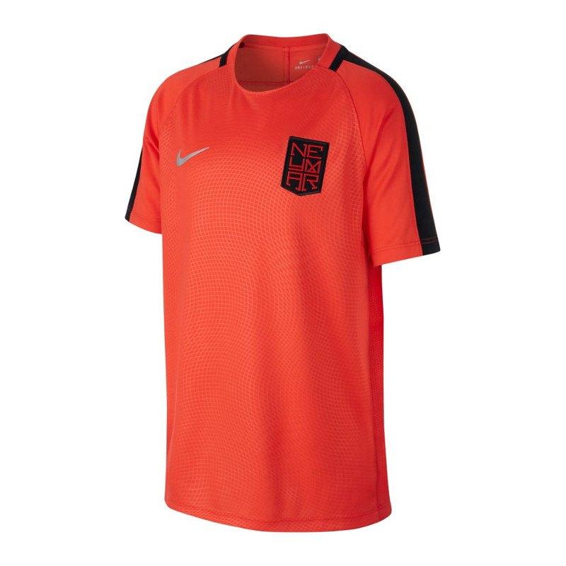 Nike Dry Neymar Top T-Shirt Kids Orange F852 - orange