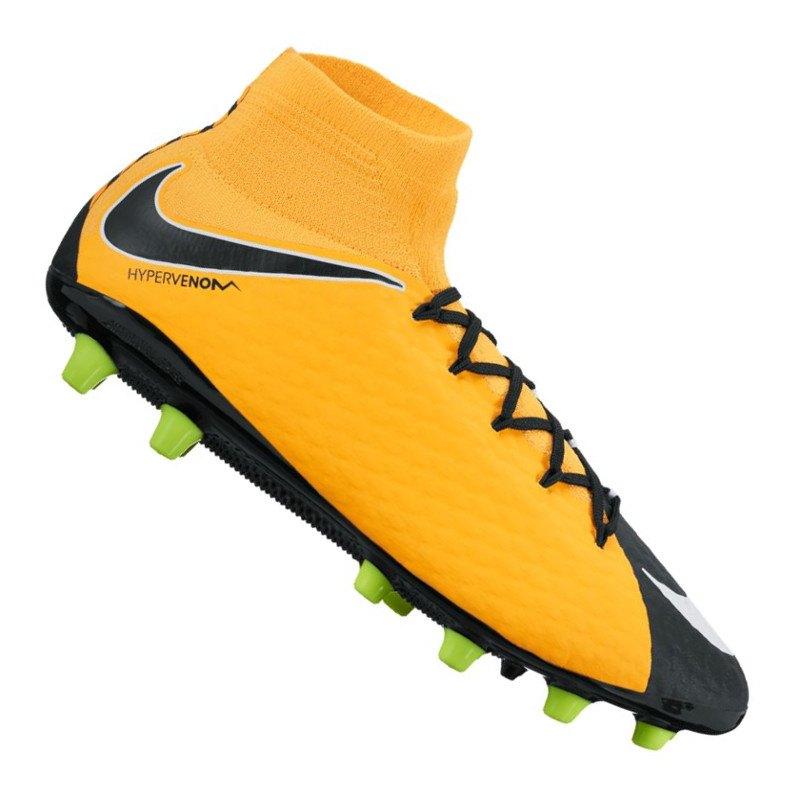 Nike Hypervenom Phatal III DF AG-Pro Orange F801 - orange