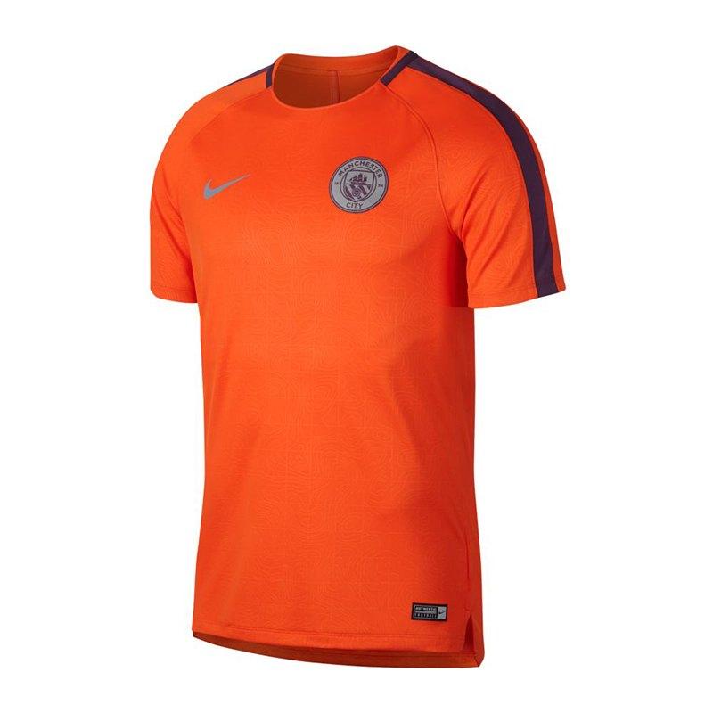 Nike Manchester City Squad T-Shirt Orange F823 - orange