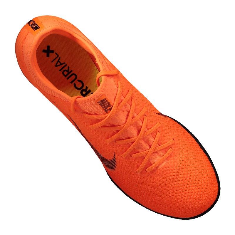 nike mercurial vaporx xii pro ic orange f810 fu ballschuhe indoor geschwindigkeit halle. Black Bedroom Furniture Sets. Home Design Ideas