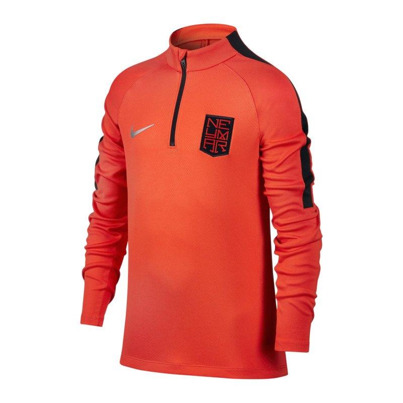 Nike Neymar Squad Drill Top Sweatshirt Kids F852 - orange