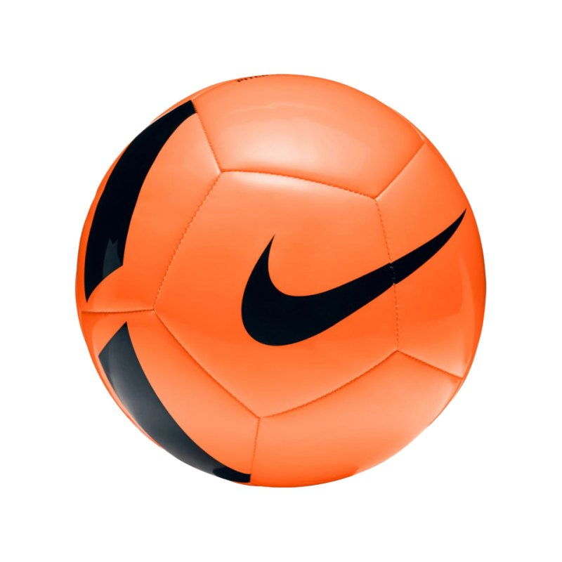 Nike Pitch Team Football Fussball Orange F803 - orange