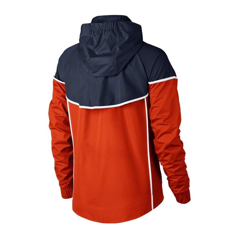 nike windrunner jacket jacke damen orange f817. Black Bedroom Furniture Sets. Home Design Ideas
