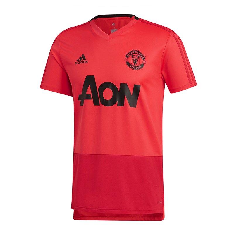 adidas Manchester United Trainingsshirt Pink - pink