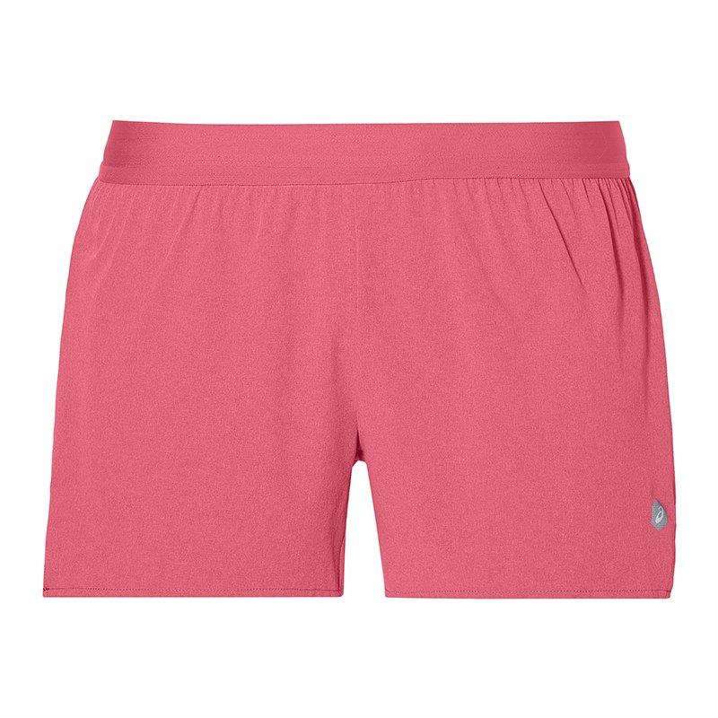 Asics 3.5 IN Short Woven Running Damen Pink F700 - pink