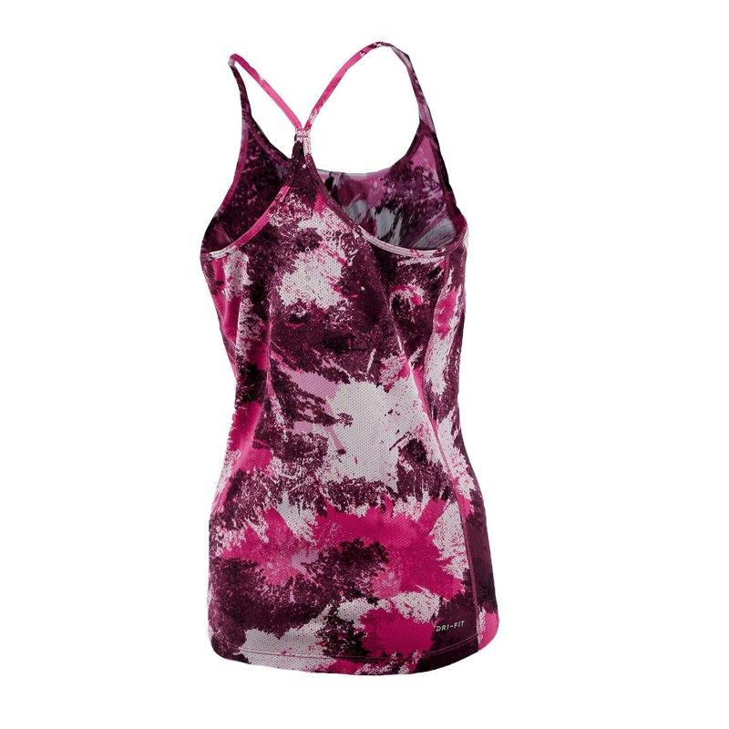 nike dry miler tank top running damen pink f617 pink. Black Bedroom Furniture Sets. Home Design Ideas