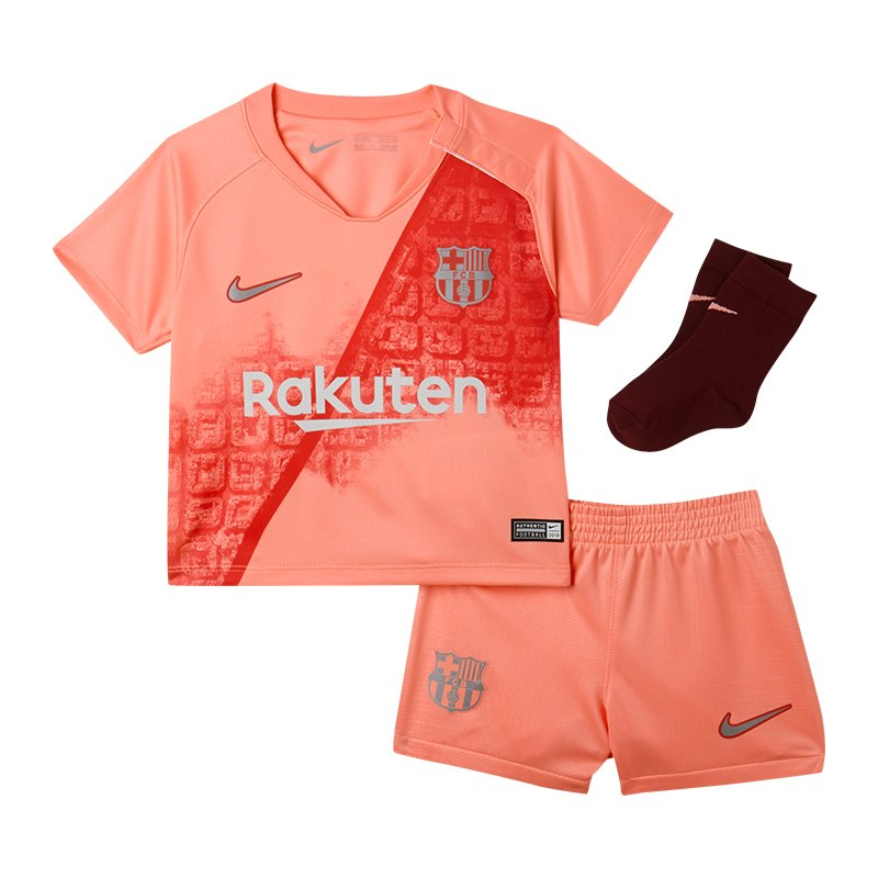 Nike FC Barcelona Babykit UCL 2018/2019 Pink F694 - pink
