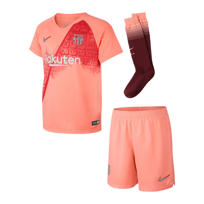 Nike FC Barcelona Minikit UCL 2018/2019 Pink F694 - pink