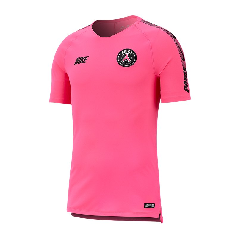 Nike Paris St. Germain Breathe Squad T-Shirt F640 - pink
