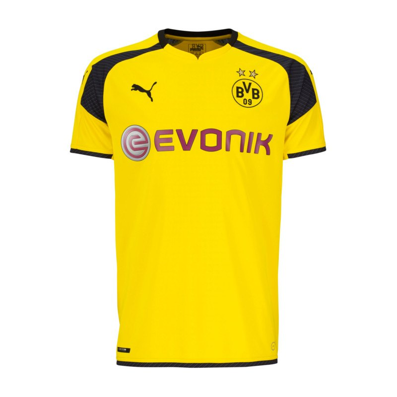 PUMA BVB Dortmund Trikot UCL 2016/2017 Gelb F11 - gelb