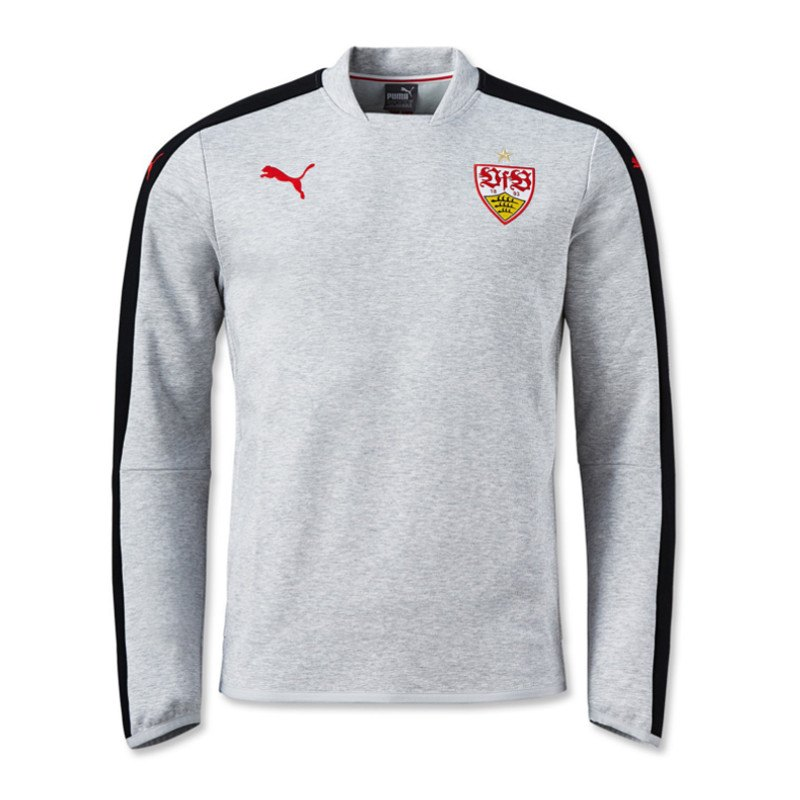 puma vfb stuttgart casual sweatshirt grau f31 grau. Black Bedroom Furniture Sets. Home Design Ideas