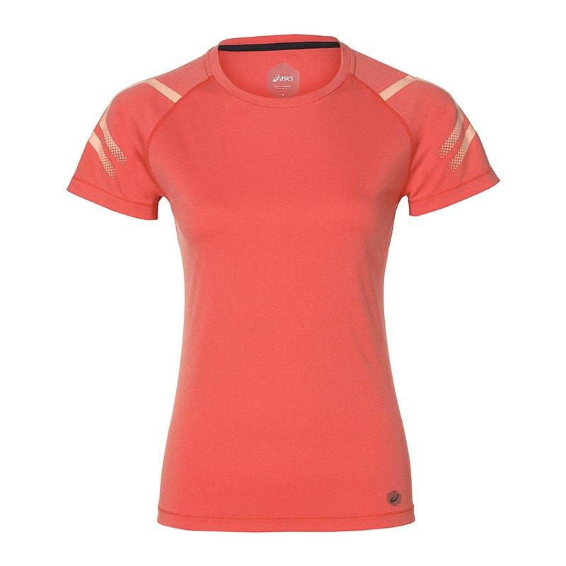 Asics Icon Top T-Shirt Running Damen F6051 - rosa