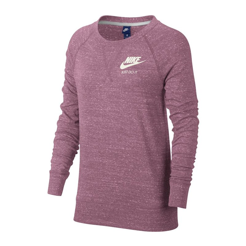 nike gym vintage crew sweatshirt damen f678 sportswear teamsportbedarf spielerausstattung. Black Bedroom Furniture Sets. Home Design Ideas