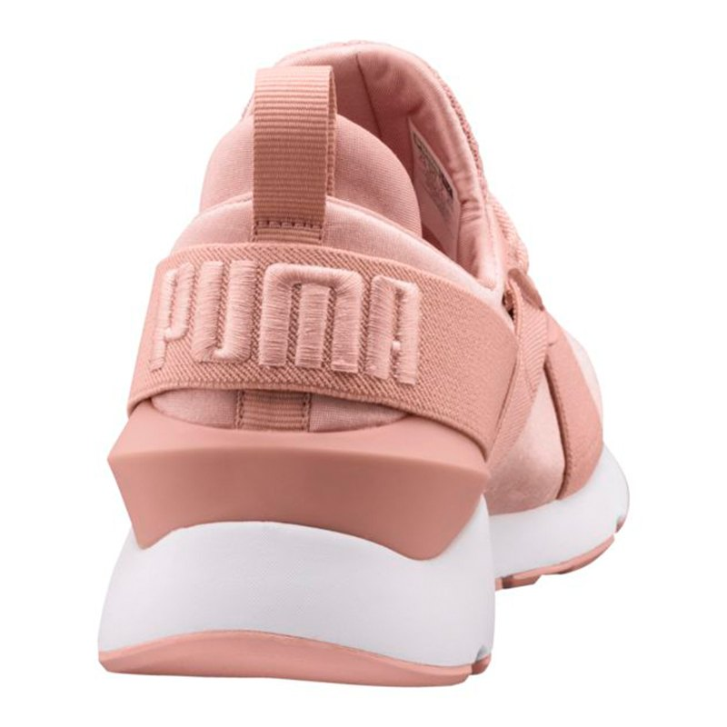 puma muse satin ep sneaker damen rosa f01 damenschuh satin freizeitschuhe turnschuhe. Black Bedroom Furniture Sets. Home Design Ideas