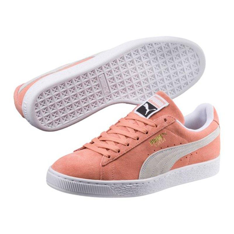ede2963b1f ... PUMA Suede Classic Sneaker Rosa Weiss F06 - rosa ...