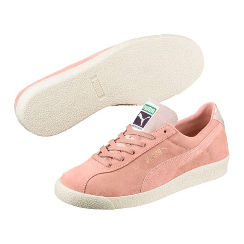 puma teku suede sneaker damen rosa f02 lifestyleschuh. Black Bedroom Furniture Sets. Home Design Ideas