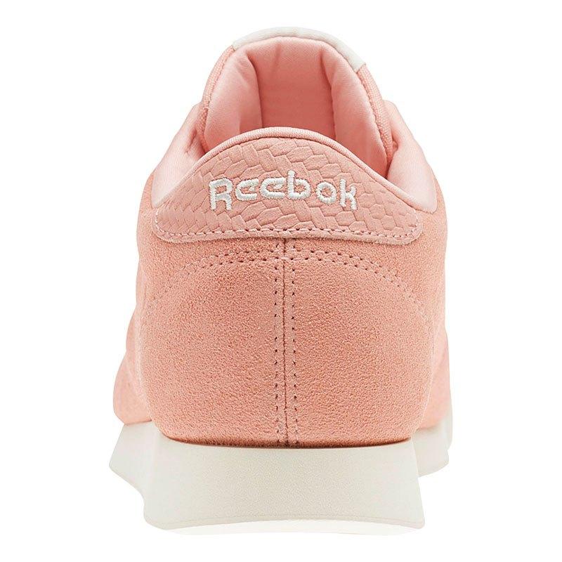 reebok princess woven emb sneaker damen rosa streetstyle. Black Bedroom Furniture Sets. Home Design Ideas