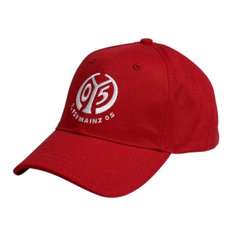 1. FSV Mainz 05 Cap Kappe Logo Rot - rot