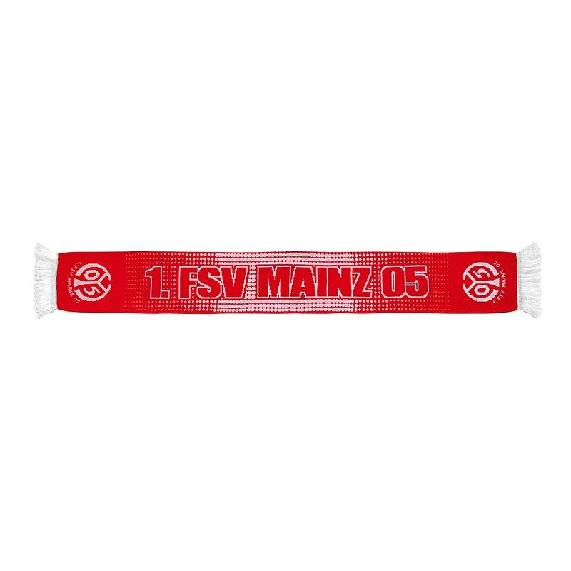 1. FSV Mainz 05 Schal Gepunktet Rot Weiss - rot