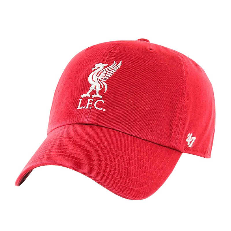 47 Brand FC Liverpool EPL Clean Up Cap Rot FRDA - rot