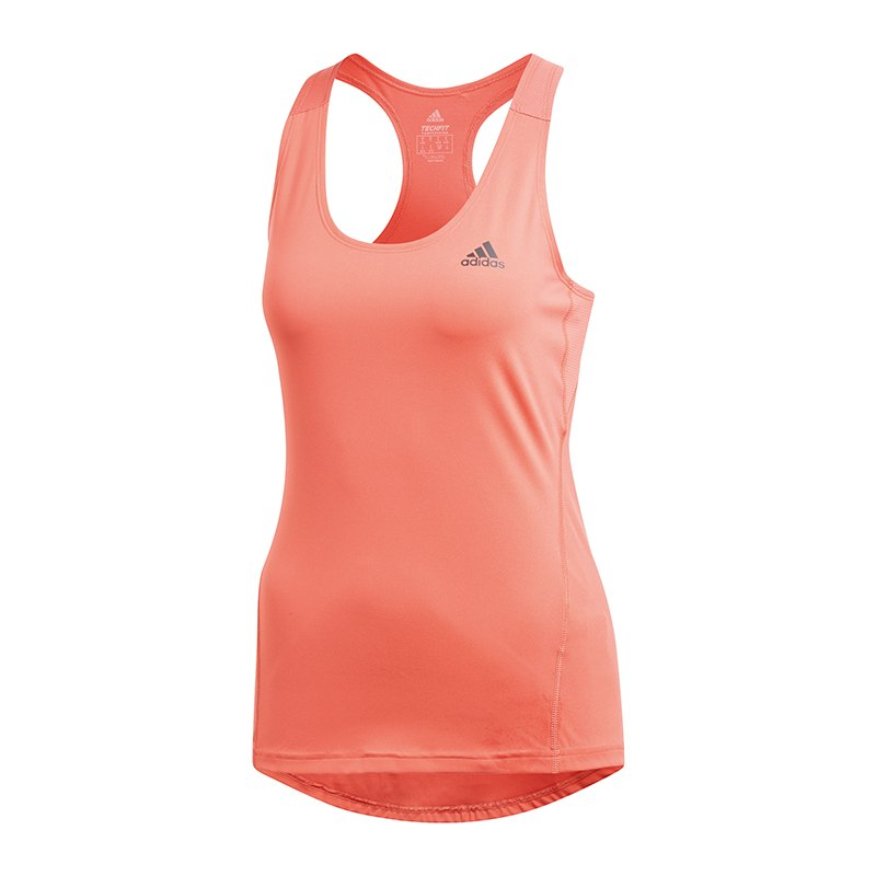 adidas alphaskin sport tank top damen rot training alltag lifestyle sportswear. Black Bedroom Furniture Sets. Home Design Ideas
