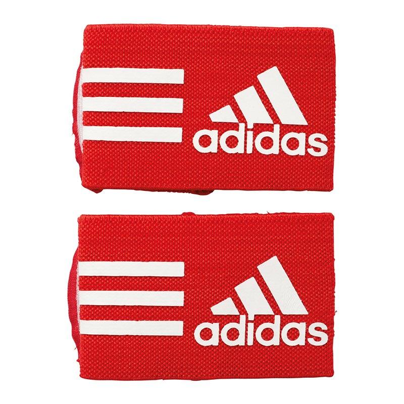 adidas Ankle Strap Schienbeinschonerhalter Rot - rot
