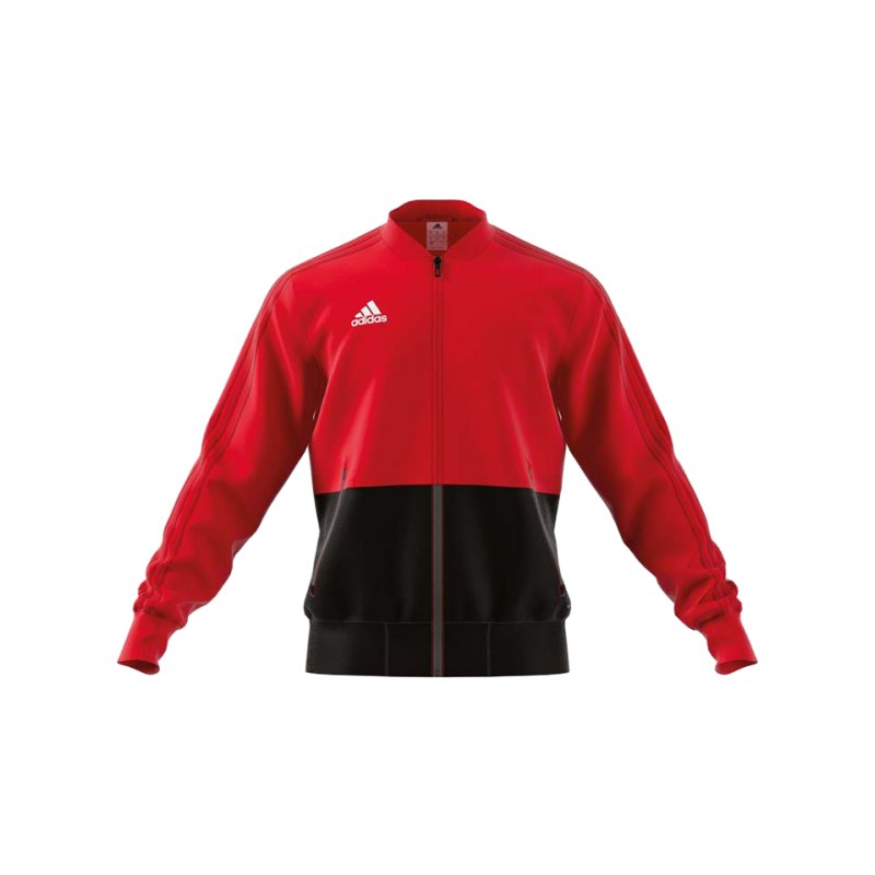 adidas Condivo 18 Präsentationsjacke Rot Schwarz - rot