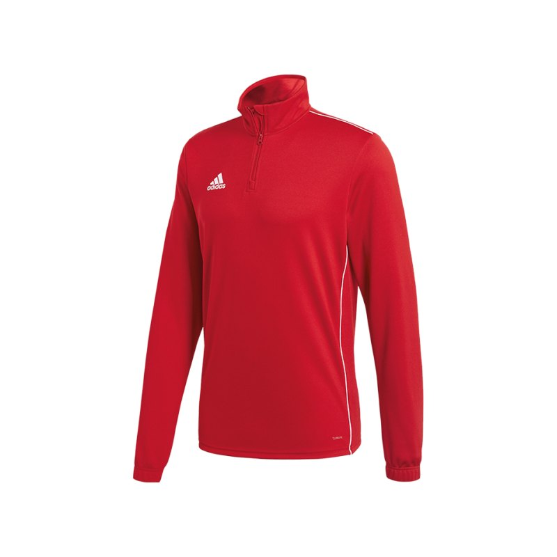 adidas Core 18 Training Top Kids Rot Weiss - rot