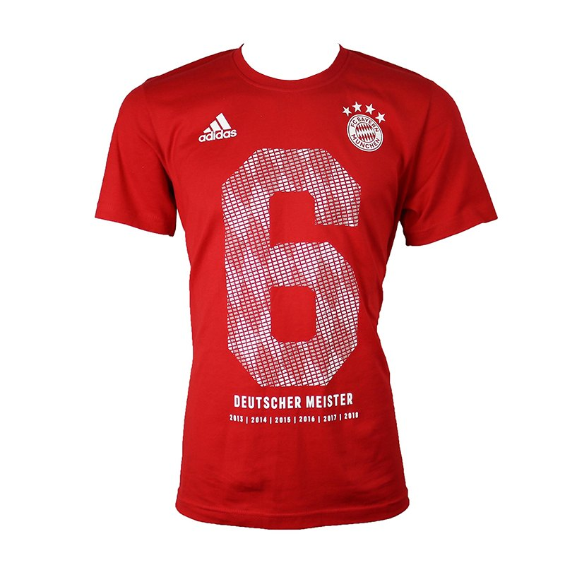 adidas fc bayern m nchen meister shirt 2018 fan shop meisterschaft rekordmeister fcb. Black Bedroom Furniture Sets. Home Design Ideas