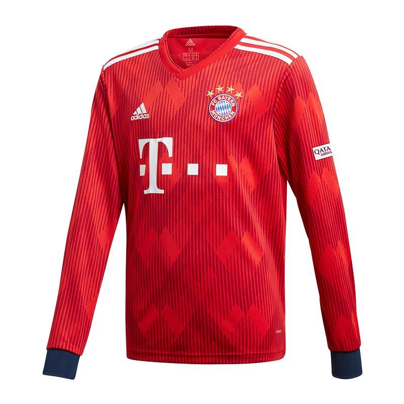 Adidas Fc Bayern München Trikot Home La Kids 1819 Fanbekleidung