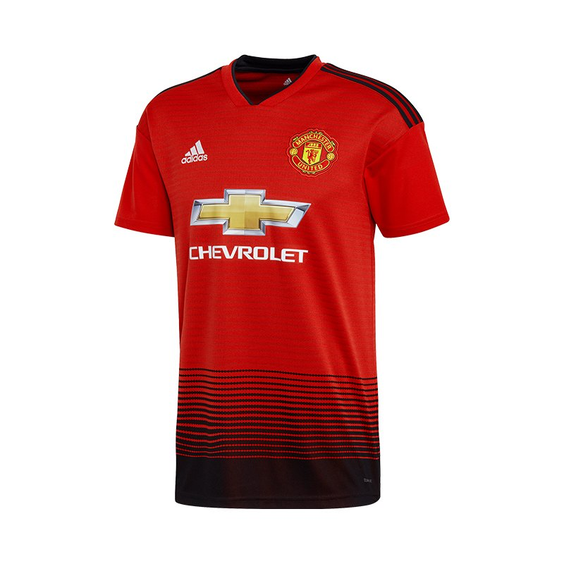adidas Manchester United Trikot Home 2018/2019 Rot - rot