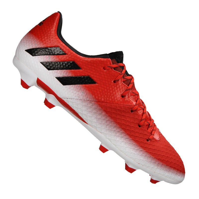 adidas Messi 16.2 FG Rot Schwarz Weiss - rot