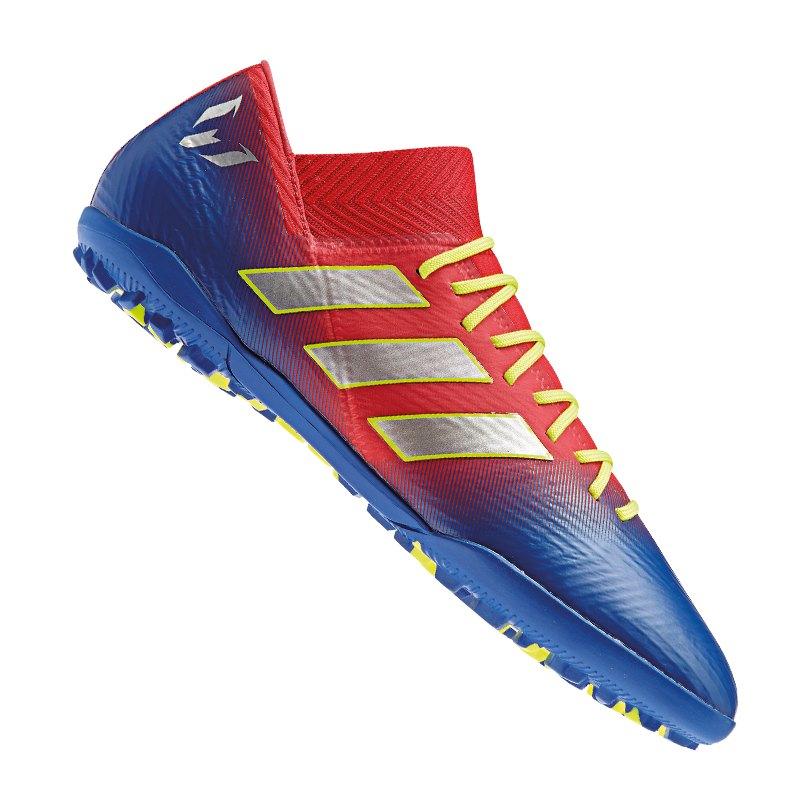 adidas NEMEZIZ Messi 18.3 TF Rot Blau - rot