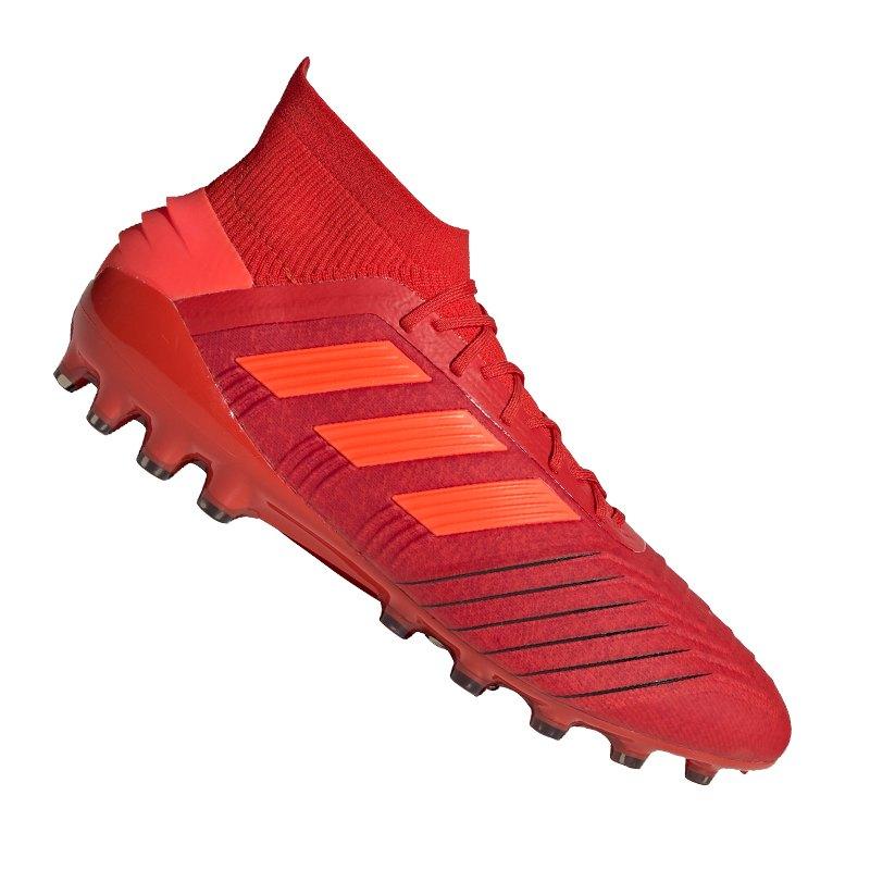adidas Predator 19.1 AG Rot Schwarz - rot