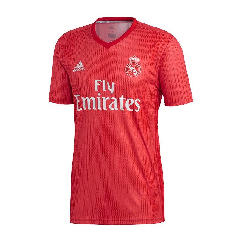 adidas Real Madrid Trikot UCL 2018/2019 Rot - rot
