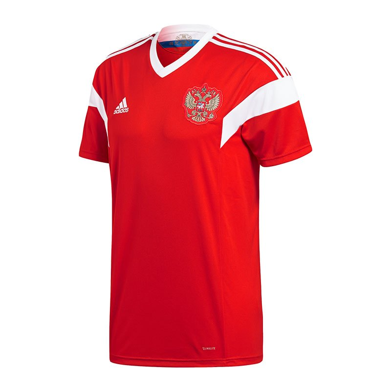 adidas russland trikot home wm 2018 rot weiss. Black Bedroom Furniture Sets. Home Design Ideas