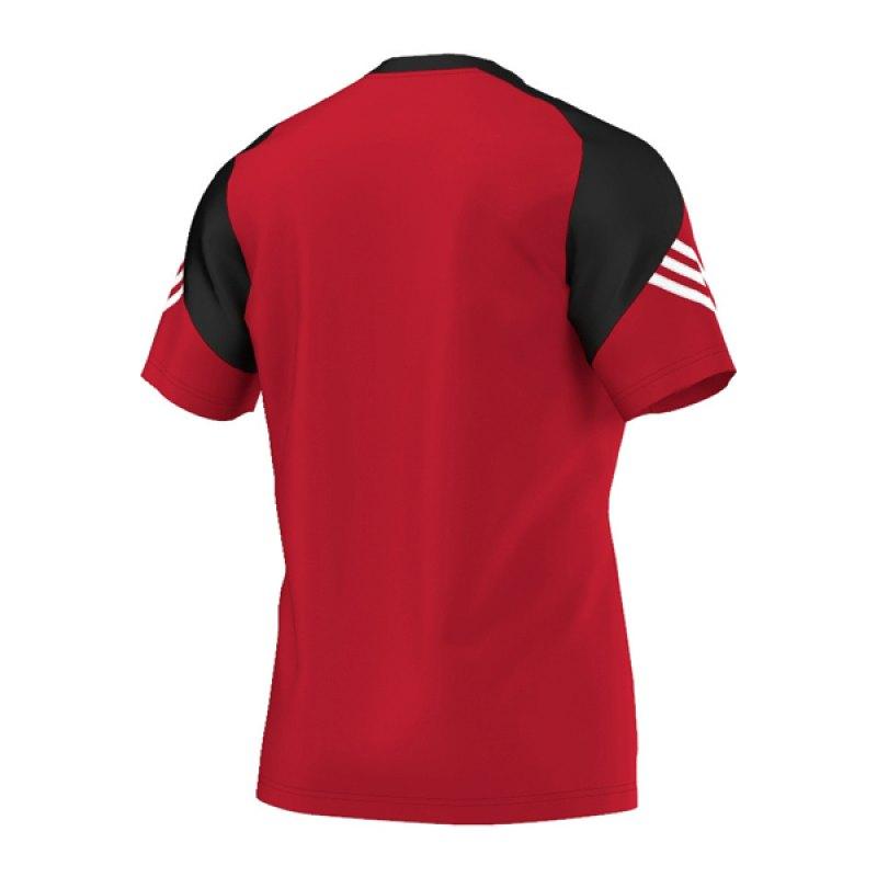 adidas sereno 14 training jersey t shirt rot rot. Black Bedroom Furniture Sets. Home Design Ideas