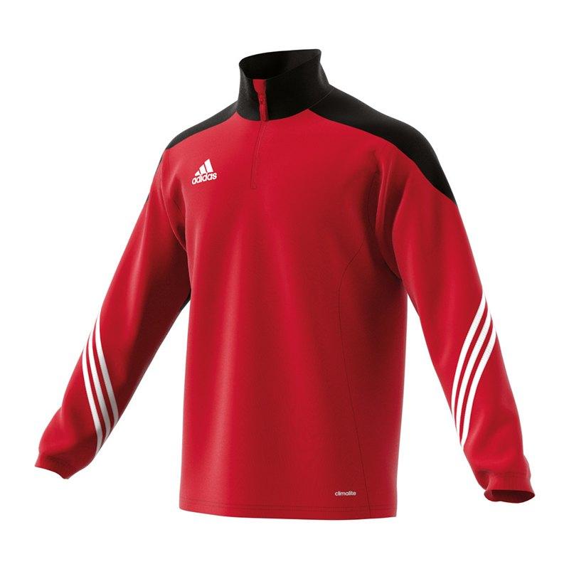 adidas Sereno 14 Training Top Rot Schwarz - rot