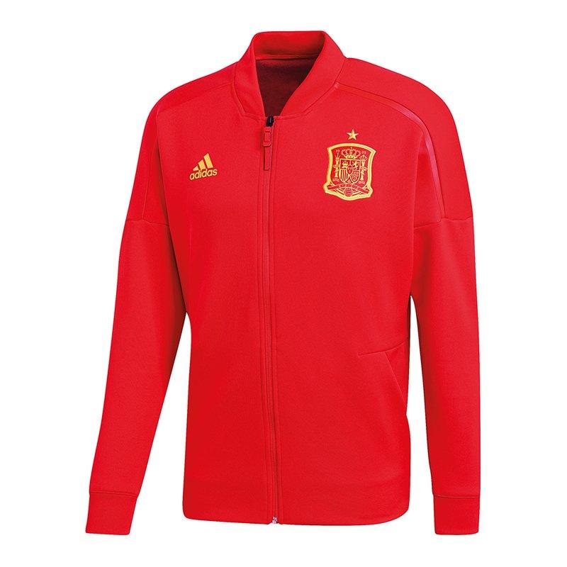 adidas Spanien Z.N.E. Jacket Knitted Jacke Rot - rot