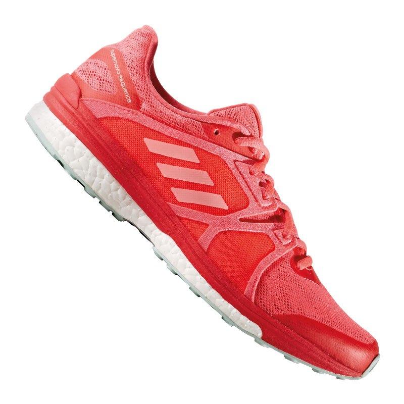 adidas Supernova Sequence Boost 9 Damen Rot - rot