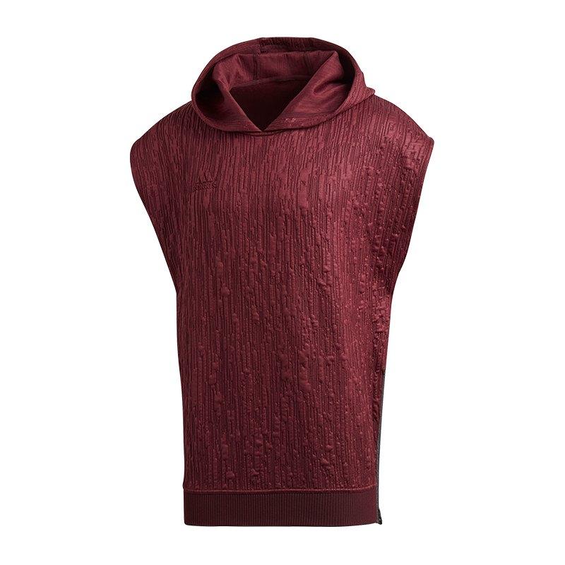 adidas Tango Paul Pogba Hood T-Shirt Rot - rot