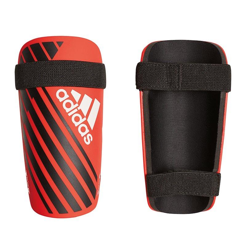 adidas X Lite Guard Schienbeinschoner Rot Schwarz - rot