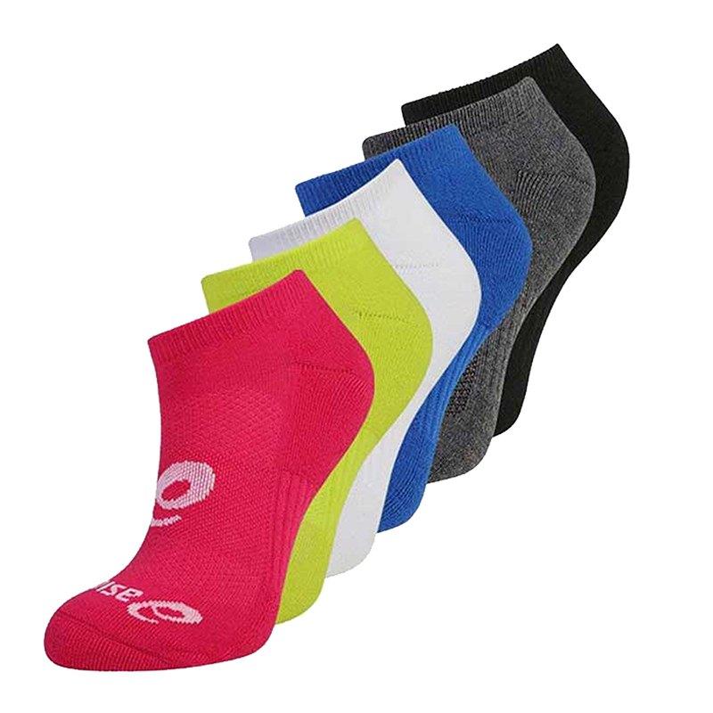 Asics 6er Pack Invisible Sock Socken F0965 - rot