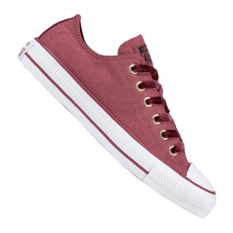 Converse Chuck Taylor AS OX Sneaker Damen Rot F507 - rot