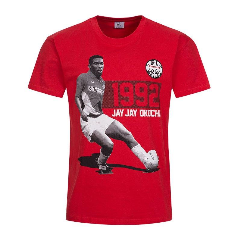 Eintracht Frankfurt Legenden Jay Jay T-Shirt Rot - rot