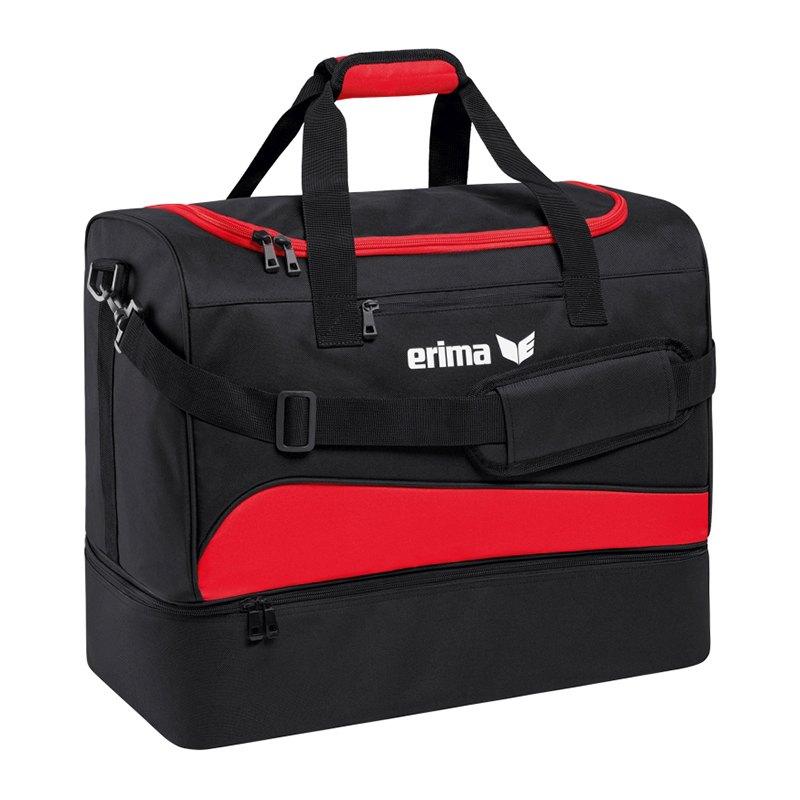 Erima Club 1900 2.0 Bottom Case Bag Gr.M Rot - rot