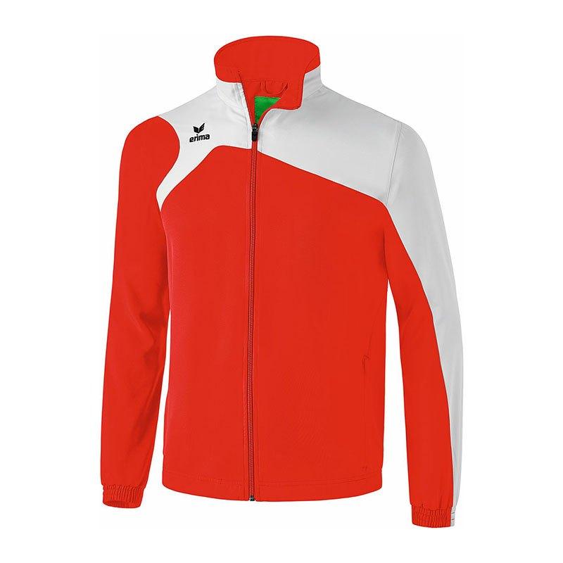 Erima Club 1900 2.0 Präsentationsjacke Rot Weiß - rot