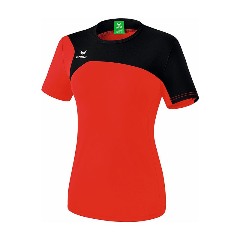 Erima Club 1900 2.0 T-Shirt Damen Rot Schwarz - rot