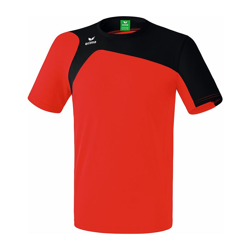 Erima Club 1900 2.0 T-Shirt Kids Rot Schwarz - rot
