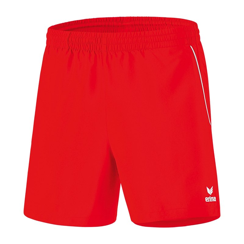 Erima Tischtennis Short Kids Rot Weiss - rot